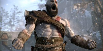 god of war camera hack baldur gives the finger to kratos Lance McDonald