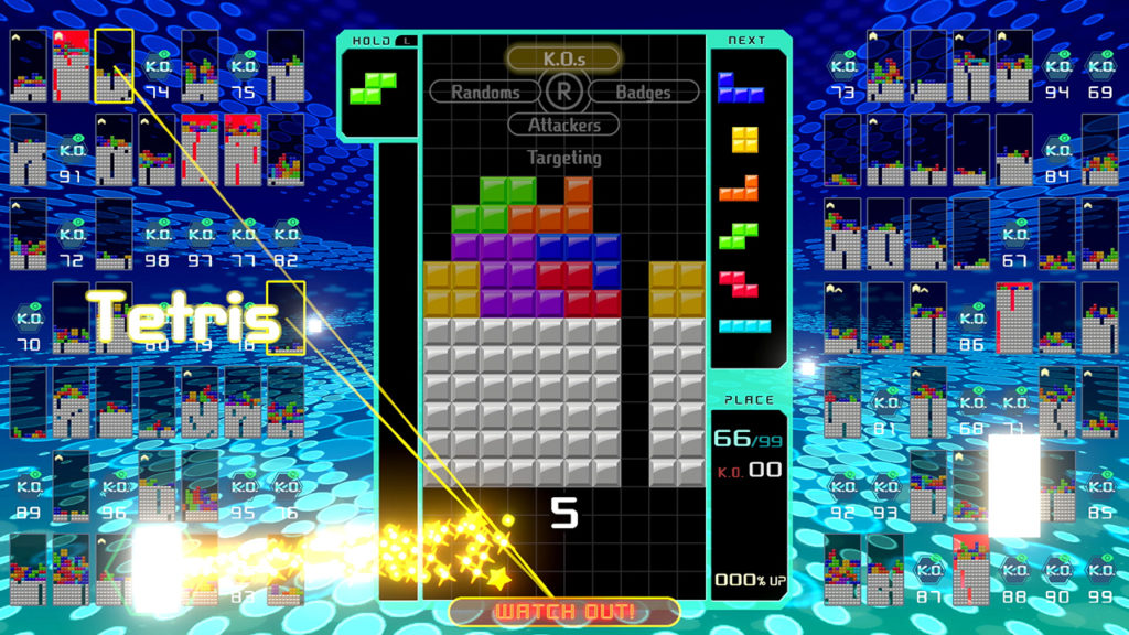 Winning is the Worst Part of Tetris 99 - Escapist Magazine