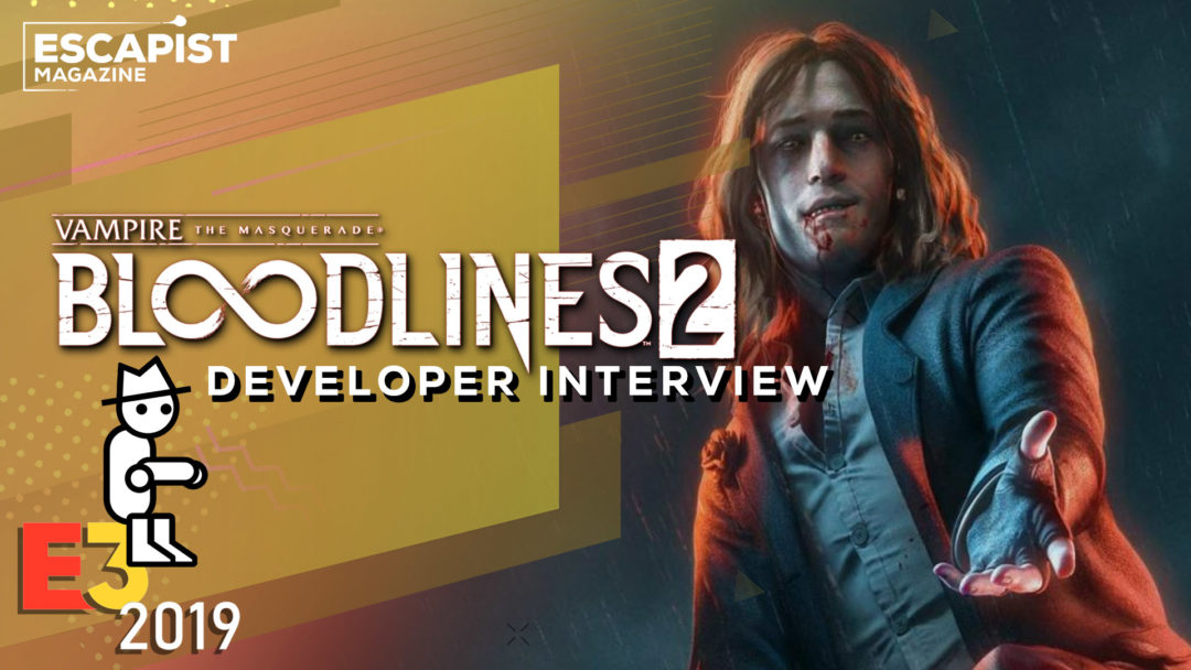 Yahtzee Interviews Brian Mitsoda About Vampire: The Masquerade - Bloodlines 2