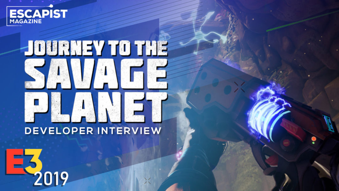 Journey to the Savage Planet Interview - A Charming Adventure Awaits