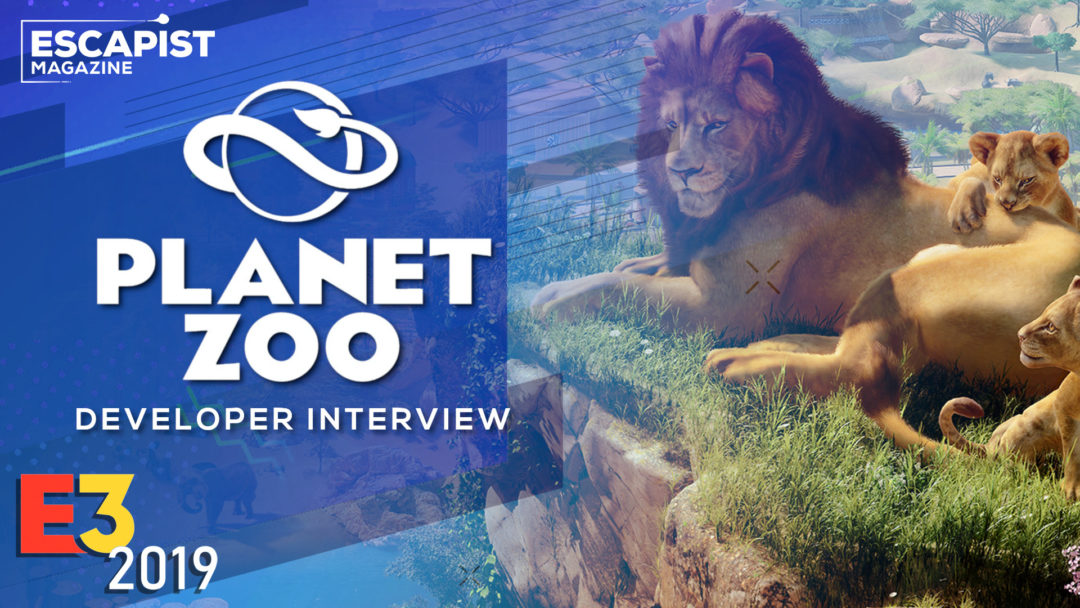 Planet Zoo Interview - Zoo Tycoon For  A New Generation