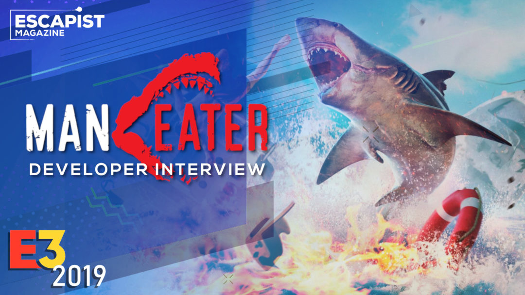 Maneater Interview - Grand Theft Auto With...A Shark