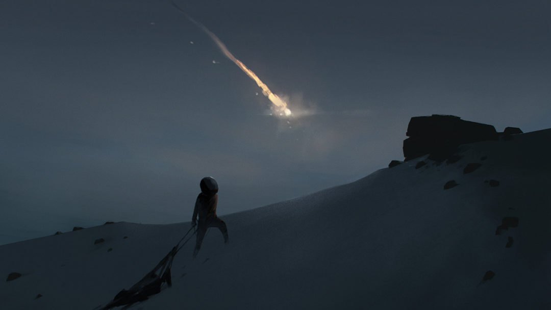 Playdead developer new game concept art, Inside and Limbo like