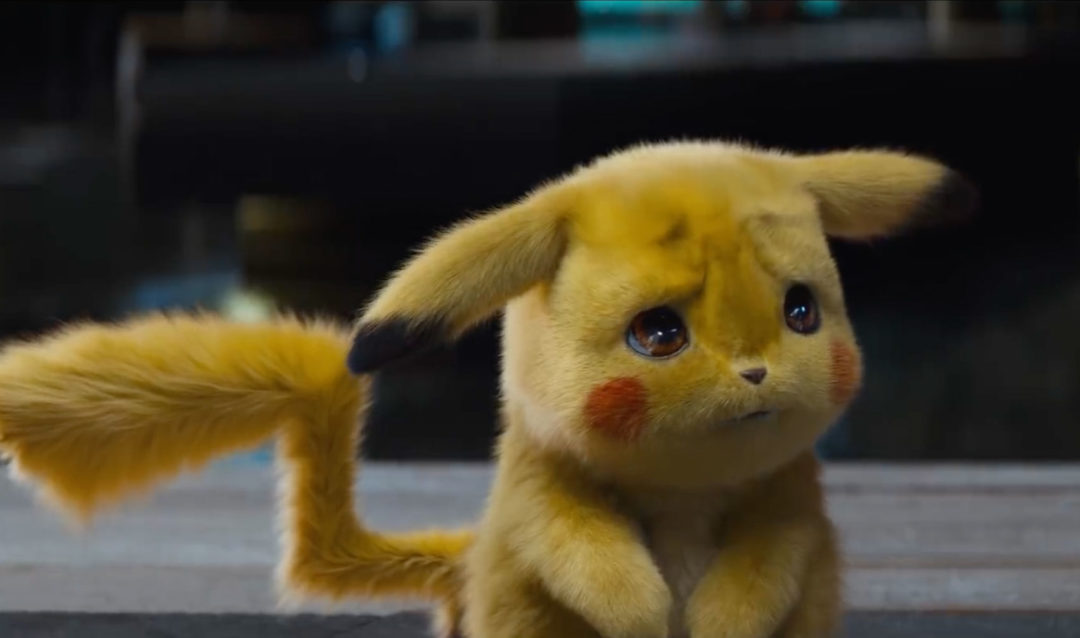 Detective Pikachu is adorably realistic