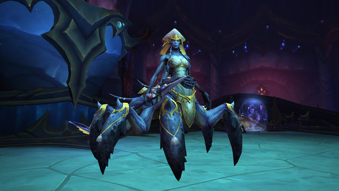 World of Warcraft: The Eternal Palace Raid Guide | Abyssal Commander Sivara