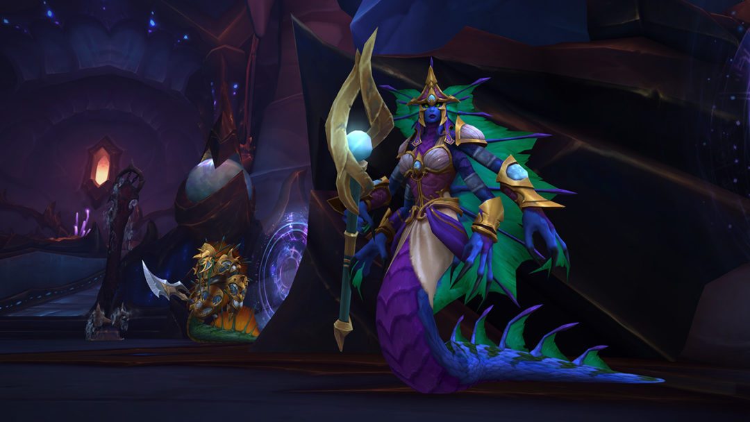 World of Warcraft: Azshara's Eternal Palace Raid Guide | The Queen's Court