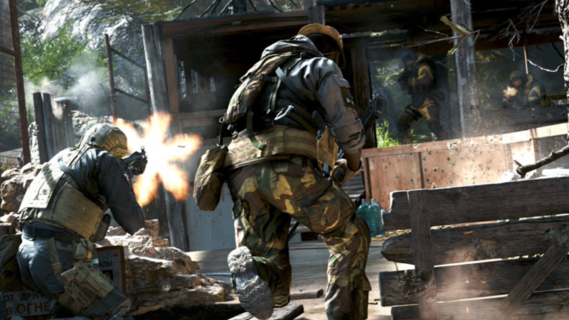 Call of Duty: Modern Warfare Multiplayer Gameplay Showcased