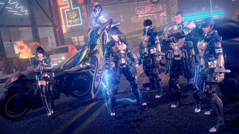 Astral Chain crime scene investigation, supernatural murder