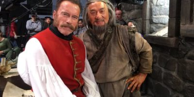 Jackie Chan & Arnold Schwarzenegger Mystery of the Dragon Seal film