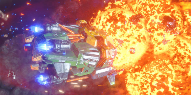 Rebel Galaxy Outlaw from Double Damage Games Aug. 13