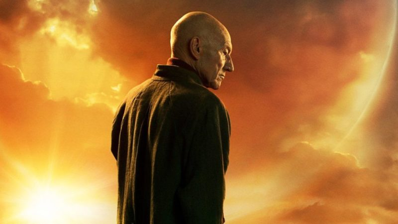 Picard returns from Star Trek: The Next Generation