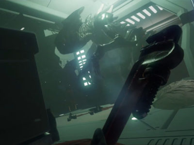 Space Crew Squad mod Alien: Isolation feel
