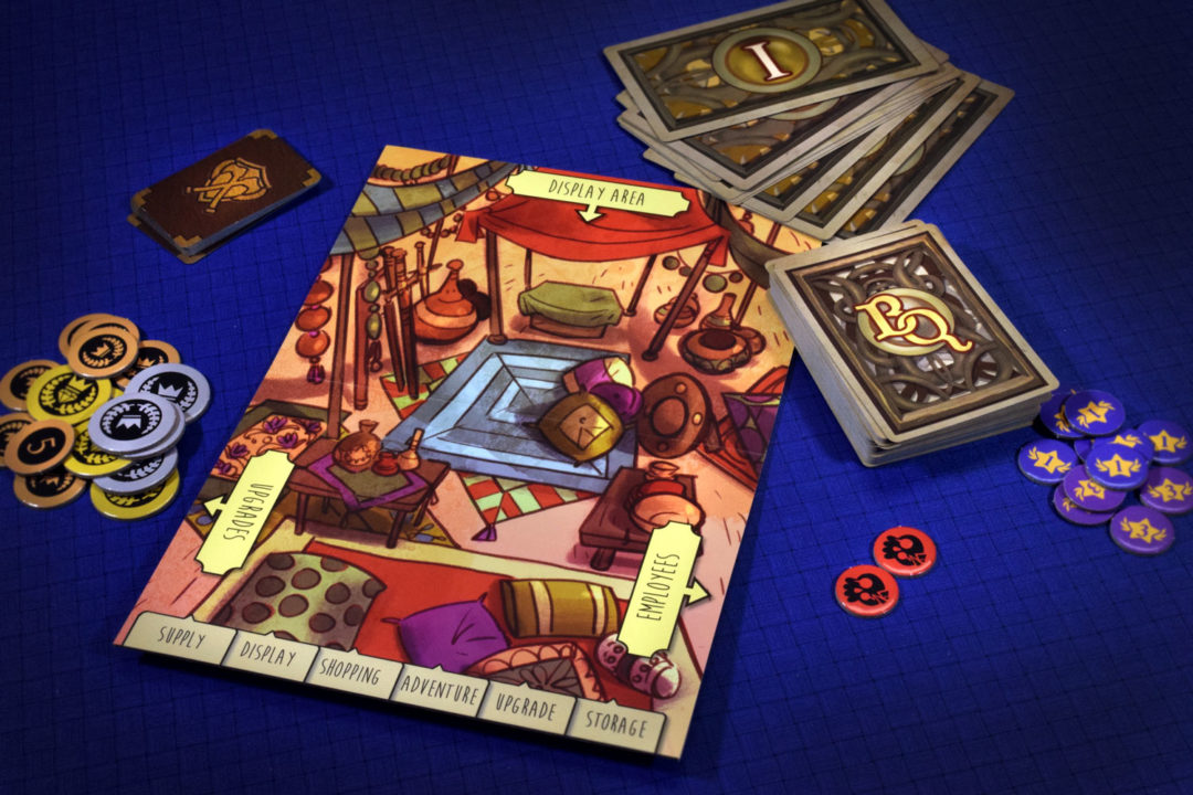 Bargain Quest drafting game
