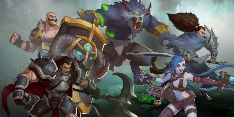 League of Legends Riot Games makes fighting game, at EVO 2019