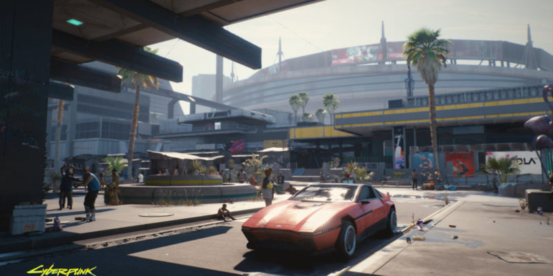 New Screenshots of Cyberpunk 2077 Appeared
