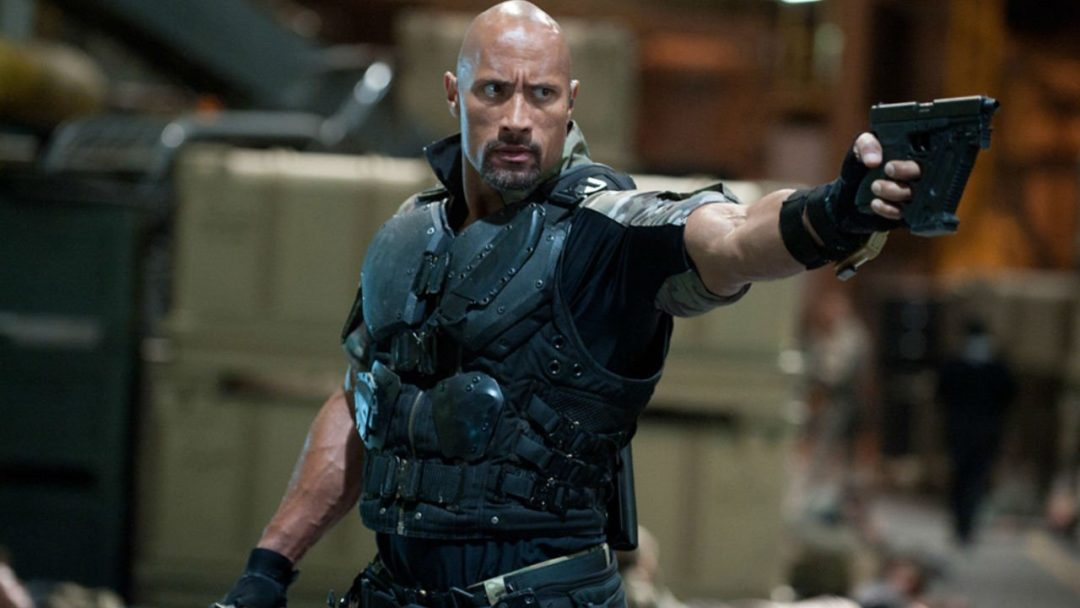 Dwayne Johnson as a FF warrior