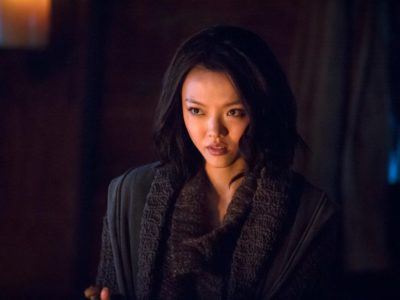 Katana Returning for Arrow Final Season, Roy Harper Won't Be a Regular