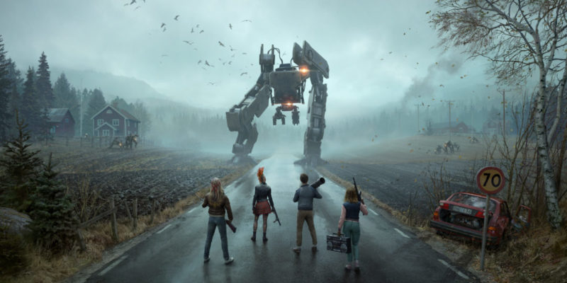 Generation Zero, enjoying silence, thoughtful walking sim with stealth and shooting