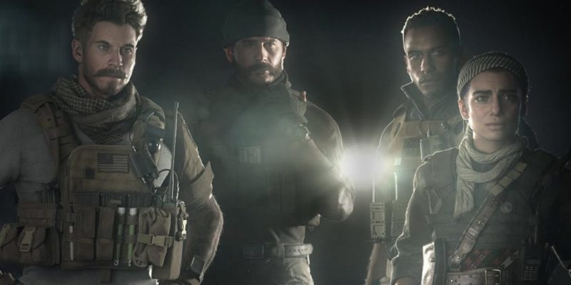 call of duty: modern warfare, infinity ward, activision, state of play