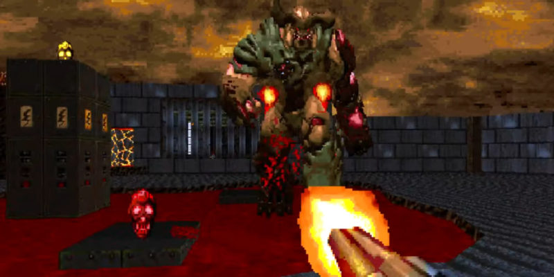 Doom 4 Vanilla' Is a New, Brutal Demake Mod of Doom 2016
