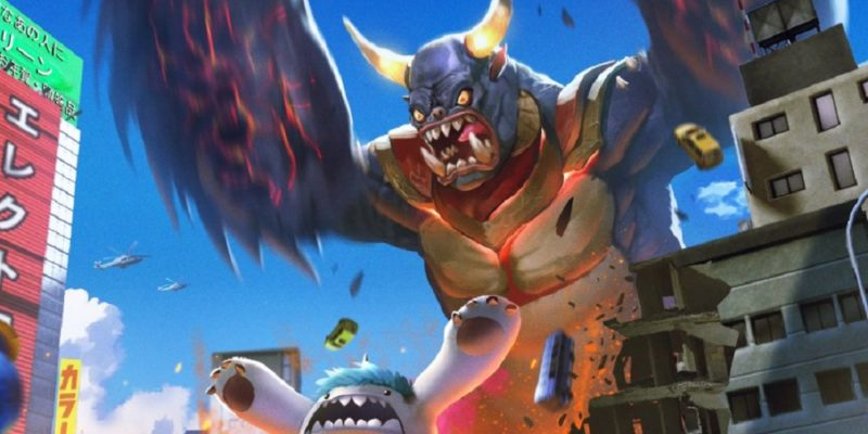 GigaBash is kaiju War of the Monsters Godzilla game action