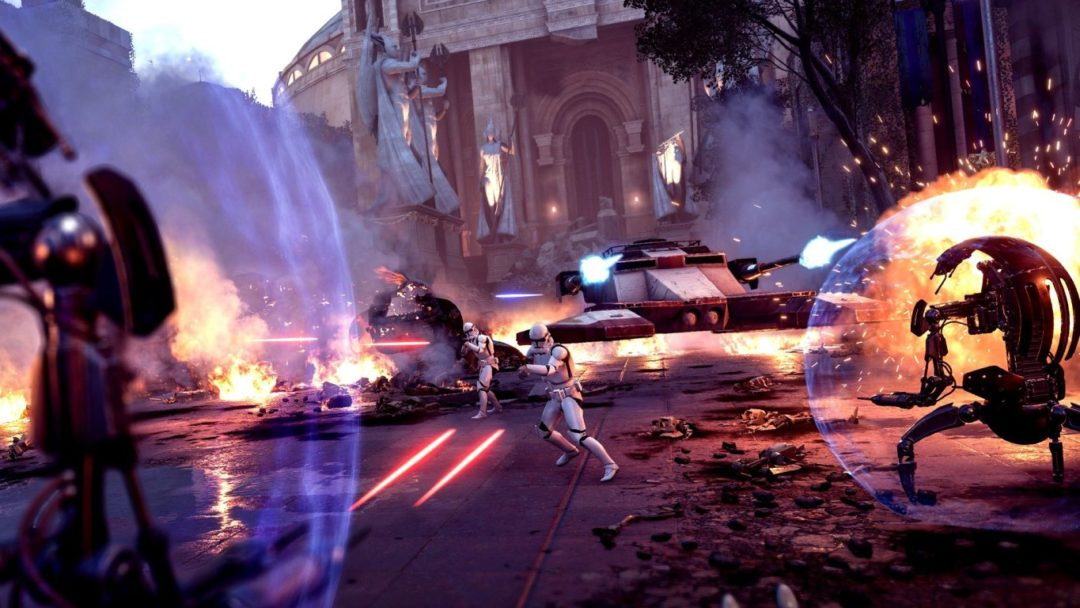 Star Wars Battlefront II Has Turned into One Hell of a Star Wars Game