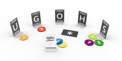 Letter Jam Tests Your Vocabulary and Teamwork