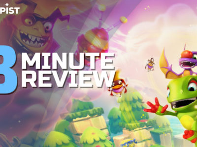 Yooka-Laylee and the Impossible Lair is a Delightful 2.5D Platformer - Review in 3 Minutes