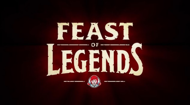 Feast of Legends Wendy's tabletop game video game