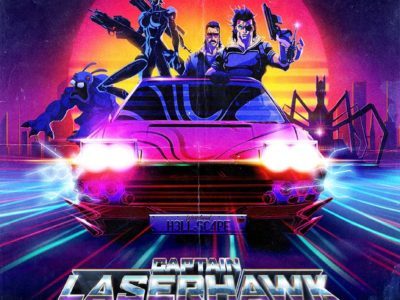Captain Laserhawk: A Blood Dragon Vibe