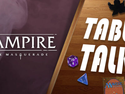 Vampire: The Masquerade expandable card game Renegade Game Studios