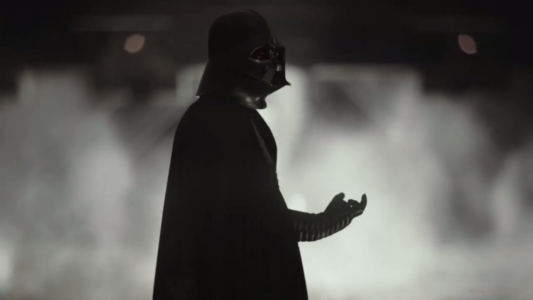 Darth Vader Rogue One smoke