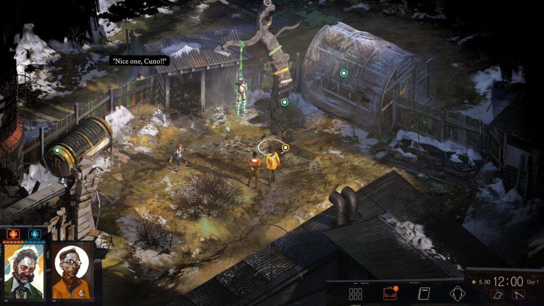 narrative design improves interactive storytelling in video games 2010s decade Disco Elysium