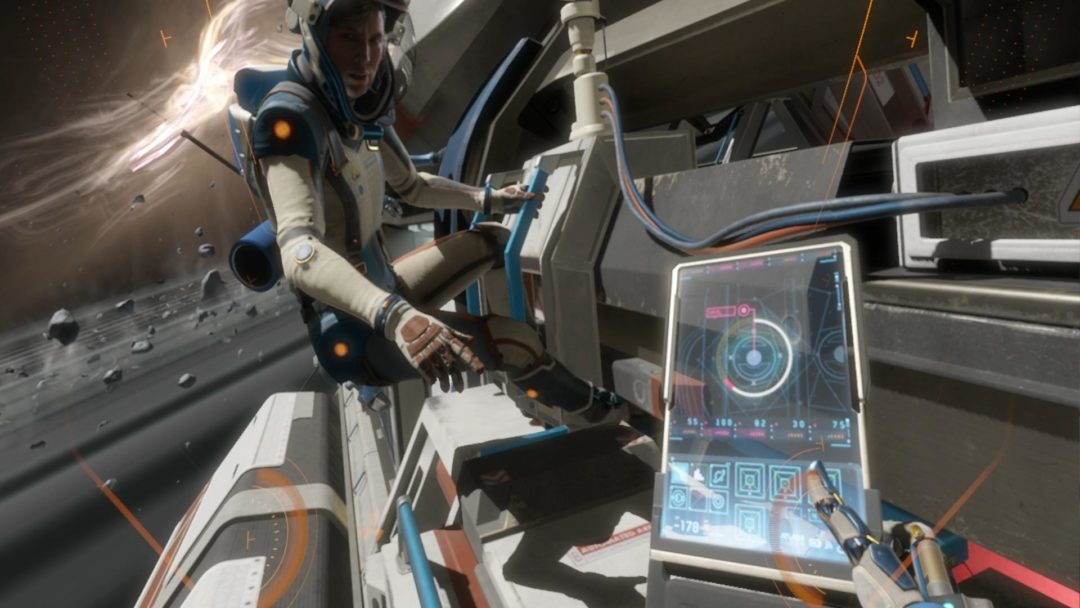 narrative design improves interactive storytelling in video games 2010s decade Lone Echo VR