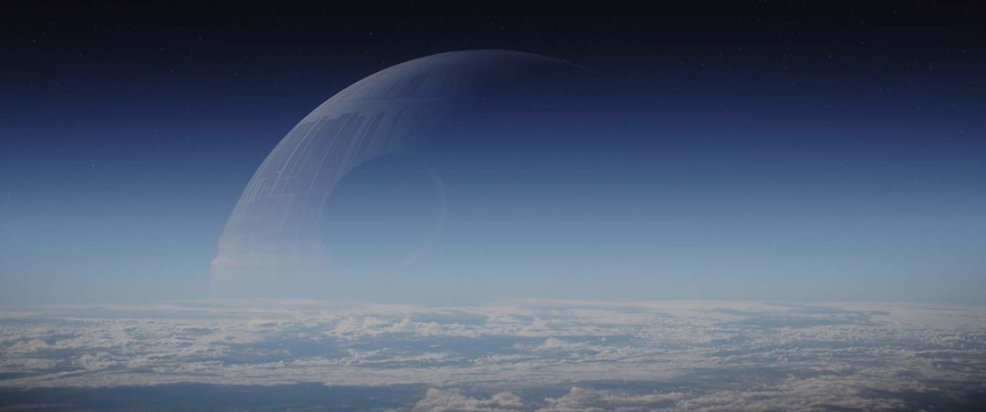 Rogue One Death Star Moon