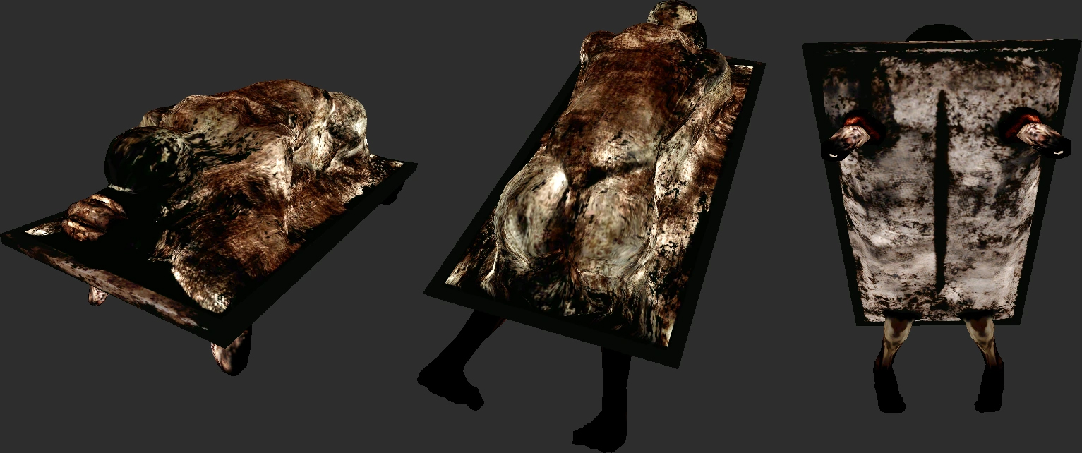 Silent Hill 2 Abstract Daddy