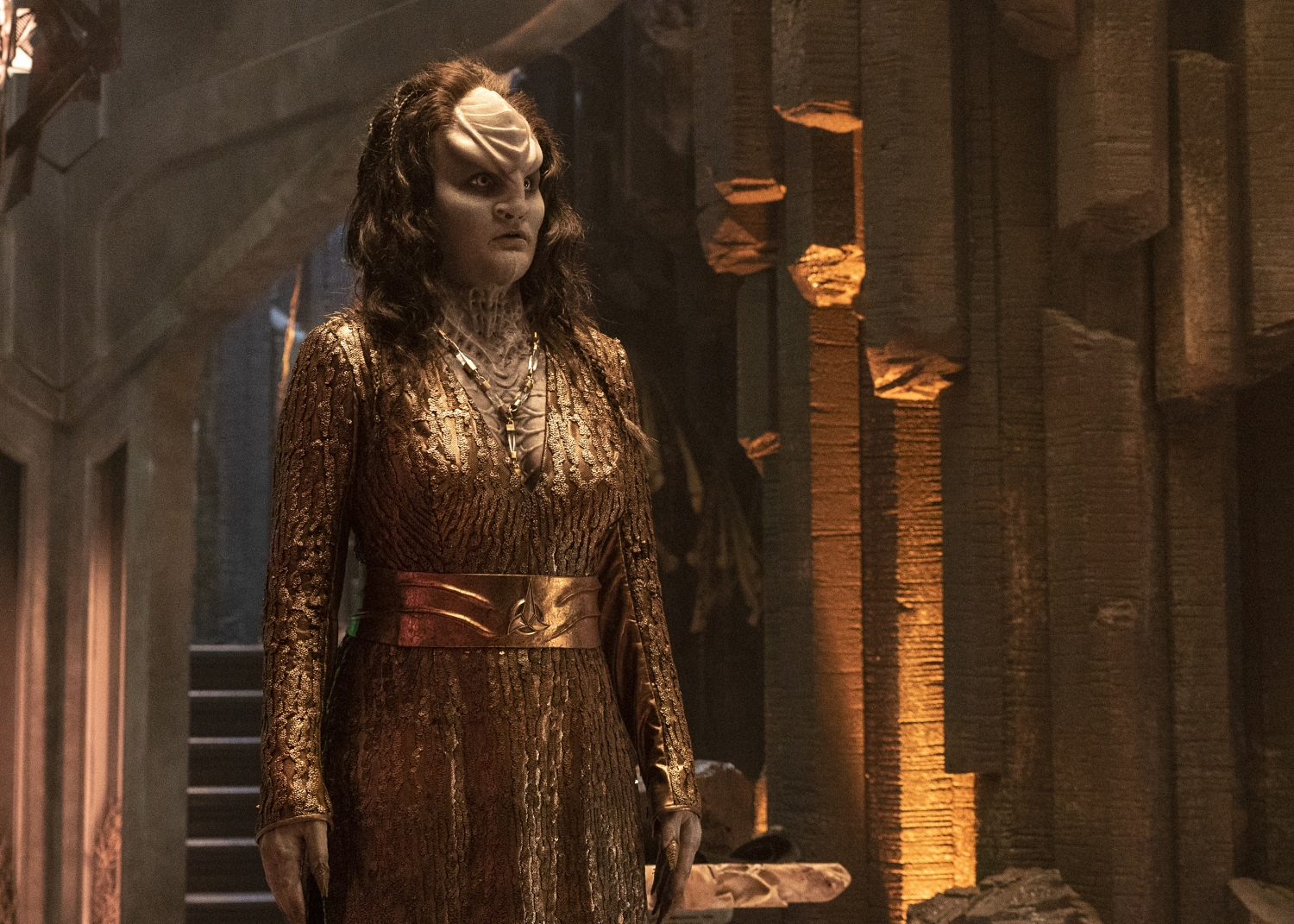 Star Trek Discovery Klingon hair caves to fan demand, turning back time and the clock
