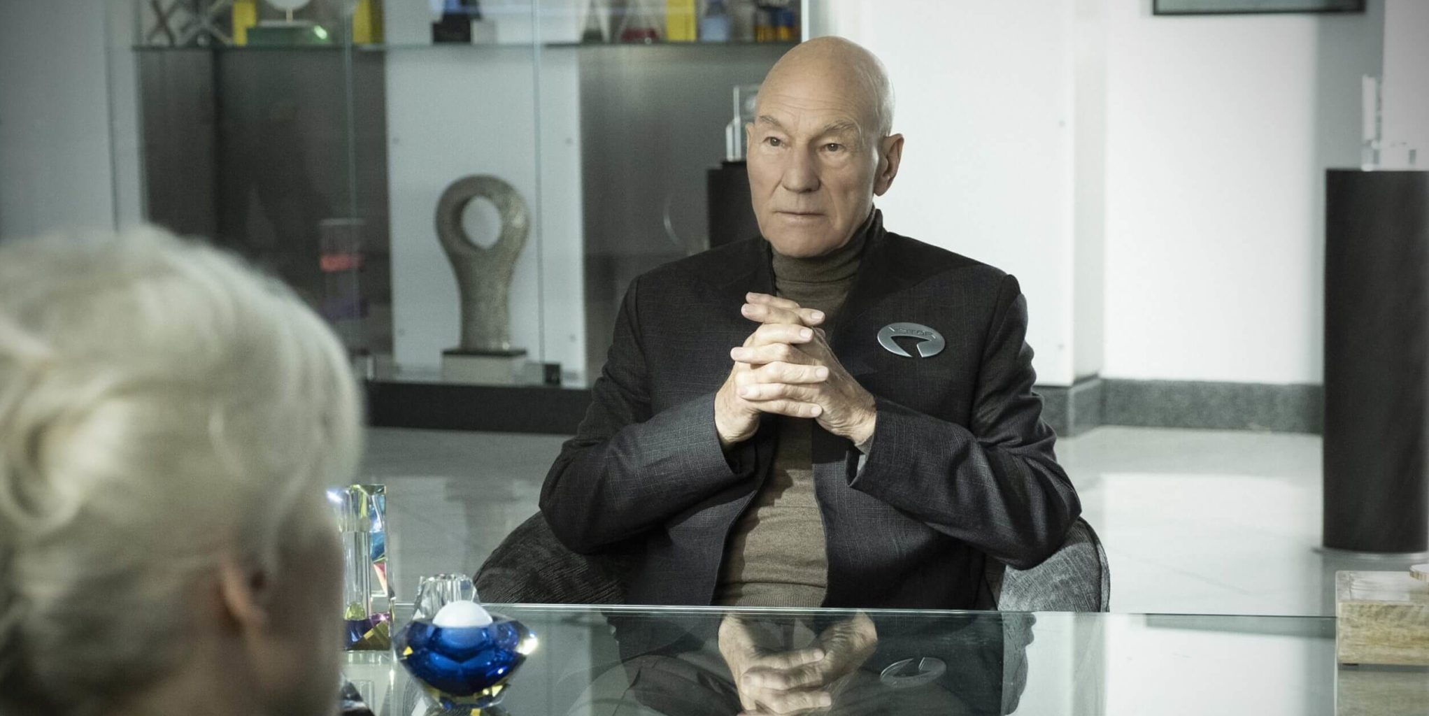 Star Trek: Picard episode 2 review Maps and Legends Patrick Stewart