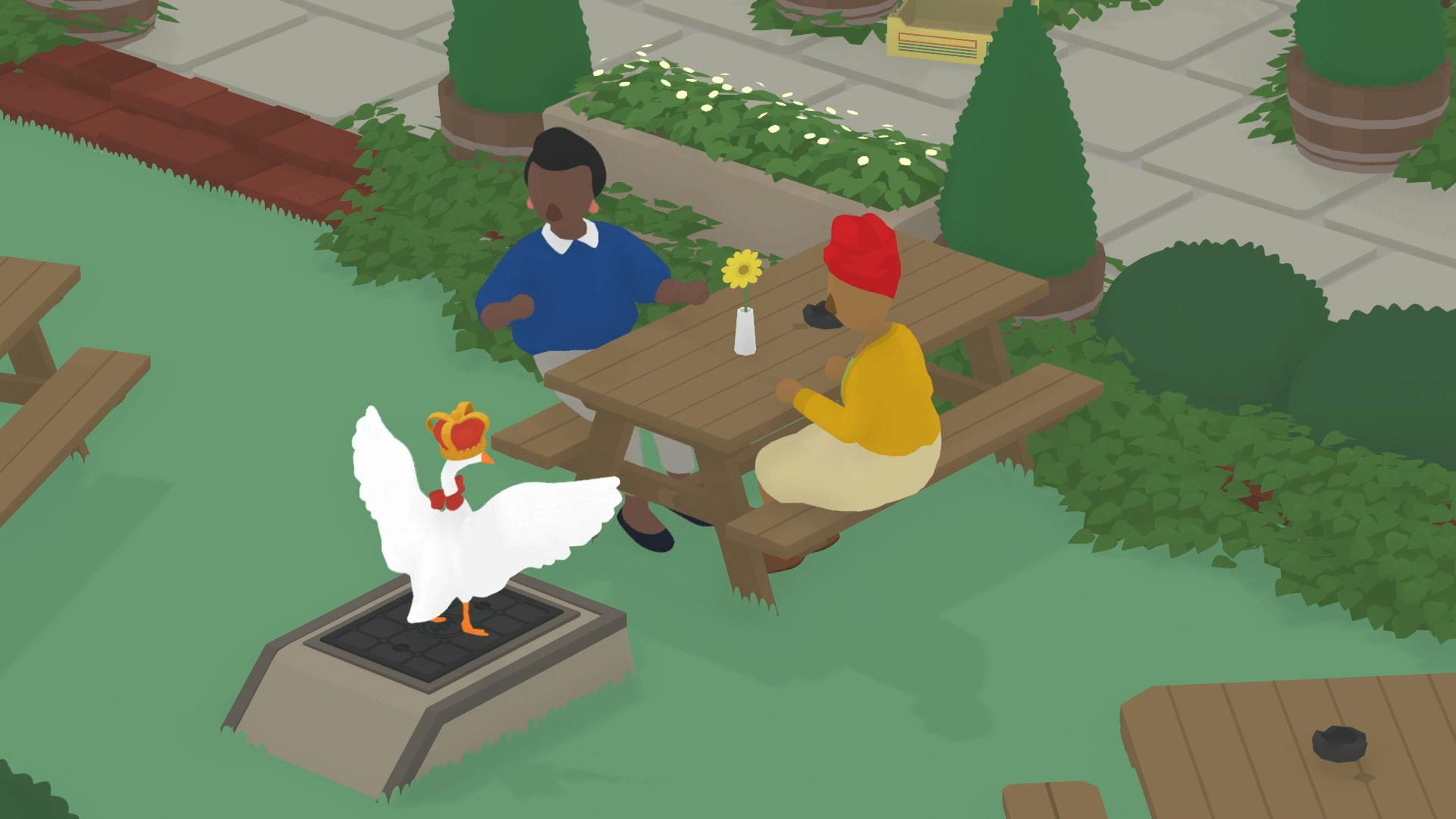 in defense of short games, single-sitting games Untitled Goose Game