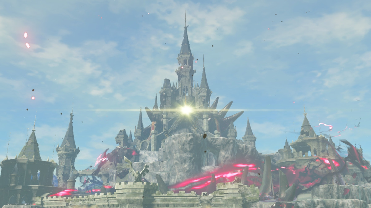 thought of finishing an rpg fills me with existential dread, horror Hyrule Castle The Legend of Zelda: Breath of the Wild
