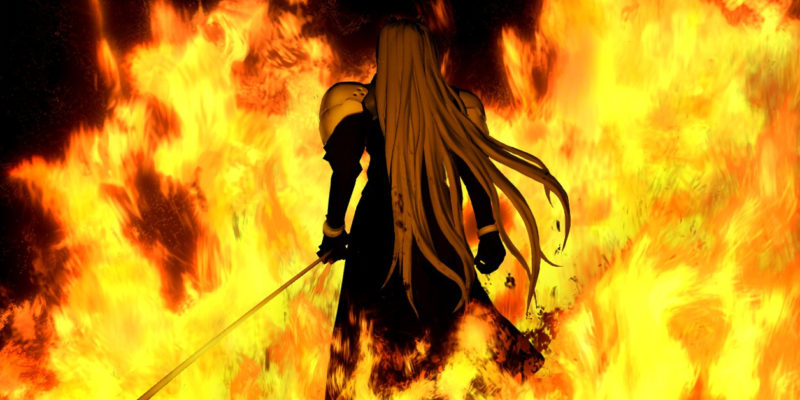 thought of finishing an rpg fills me with existential dread, horror Final Fantasy VII Sephiroth