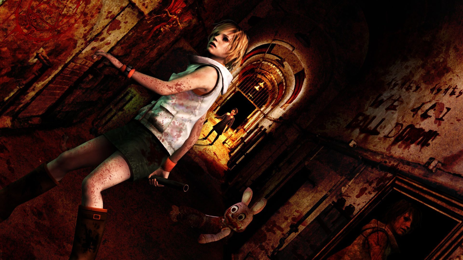 Silent Hill 3 Heather Mason teenage pregnancy childbirth nightmare