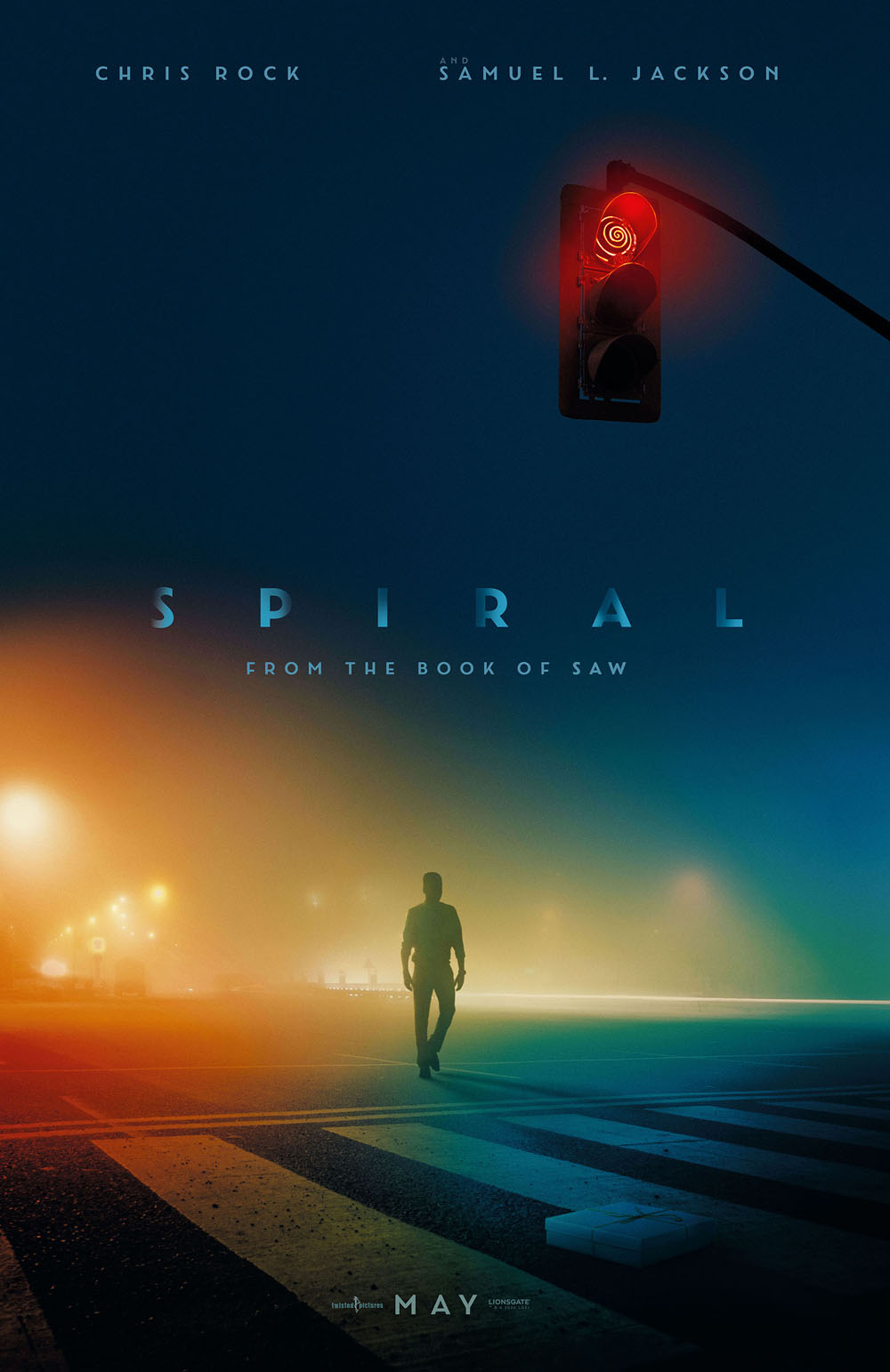 Spiral: From the Book of Saw poster Chris Rock Samuel L. Jackson