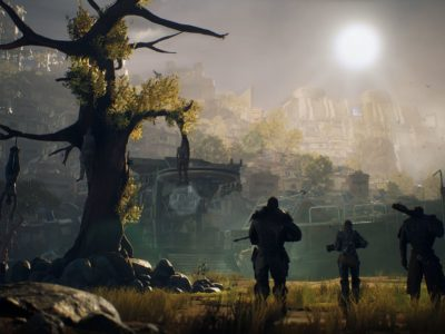 Outriders preview People Can Fly, third-person shooter RPG like Gears of War