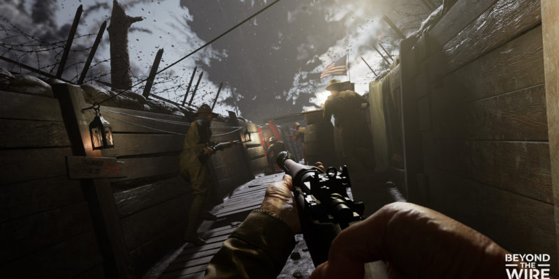 Beyond the Wire Offworld Industries Redstone Interactive World War I FPS WWI WW1 Squad