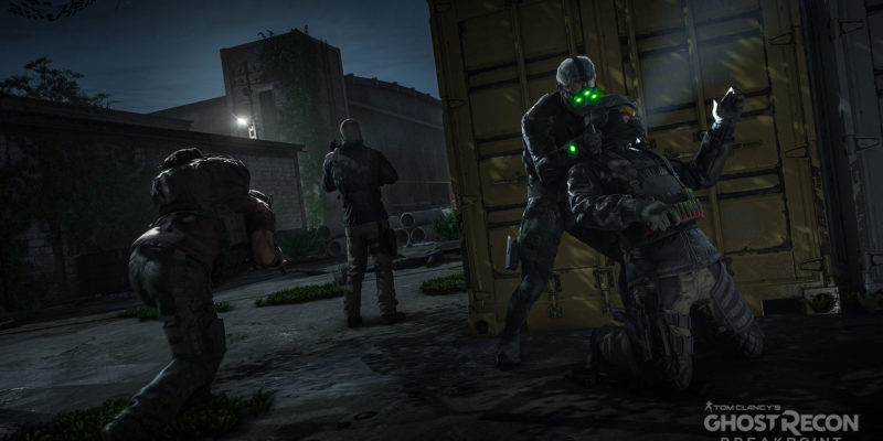 Ubisoft Ghost Recon: Breakpoint update the ghost experience immersive mode deep state, plus Sam Fisher Splinter Cell