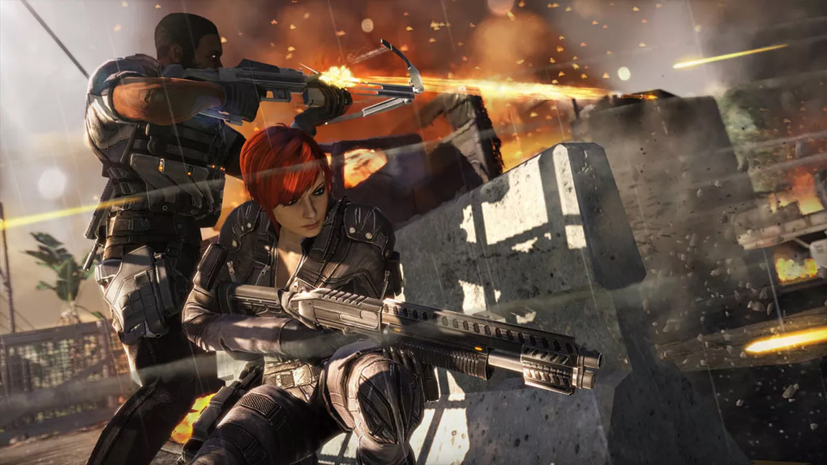 FUSE Is the Best Single-Player Co-op Game Ever Insomniac Games EA Electronic Arts