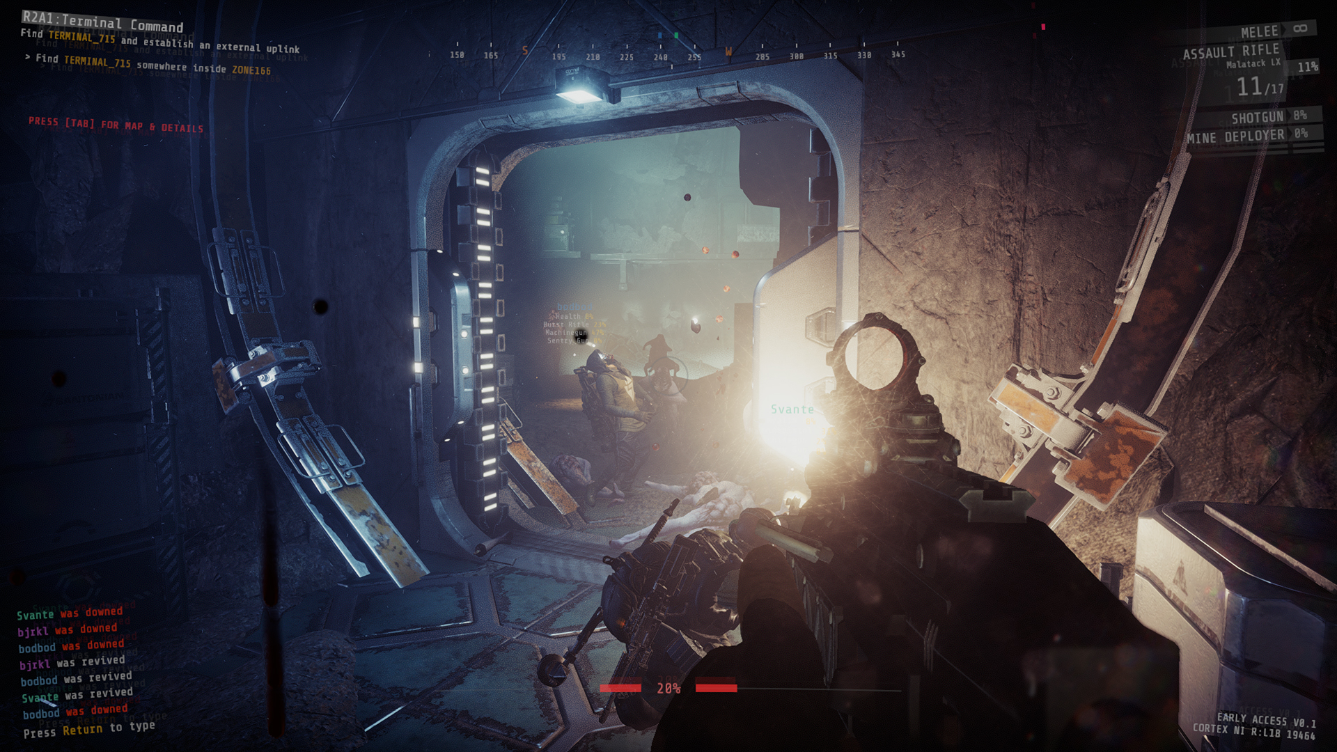 GTFO infection preview gameplay early access March 31, Ulf Andersson 10 Chambers Collective