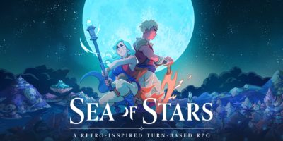 Sea of Stars Sabotage Studio Kickstarter RPG The Messenger