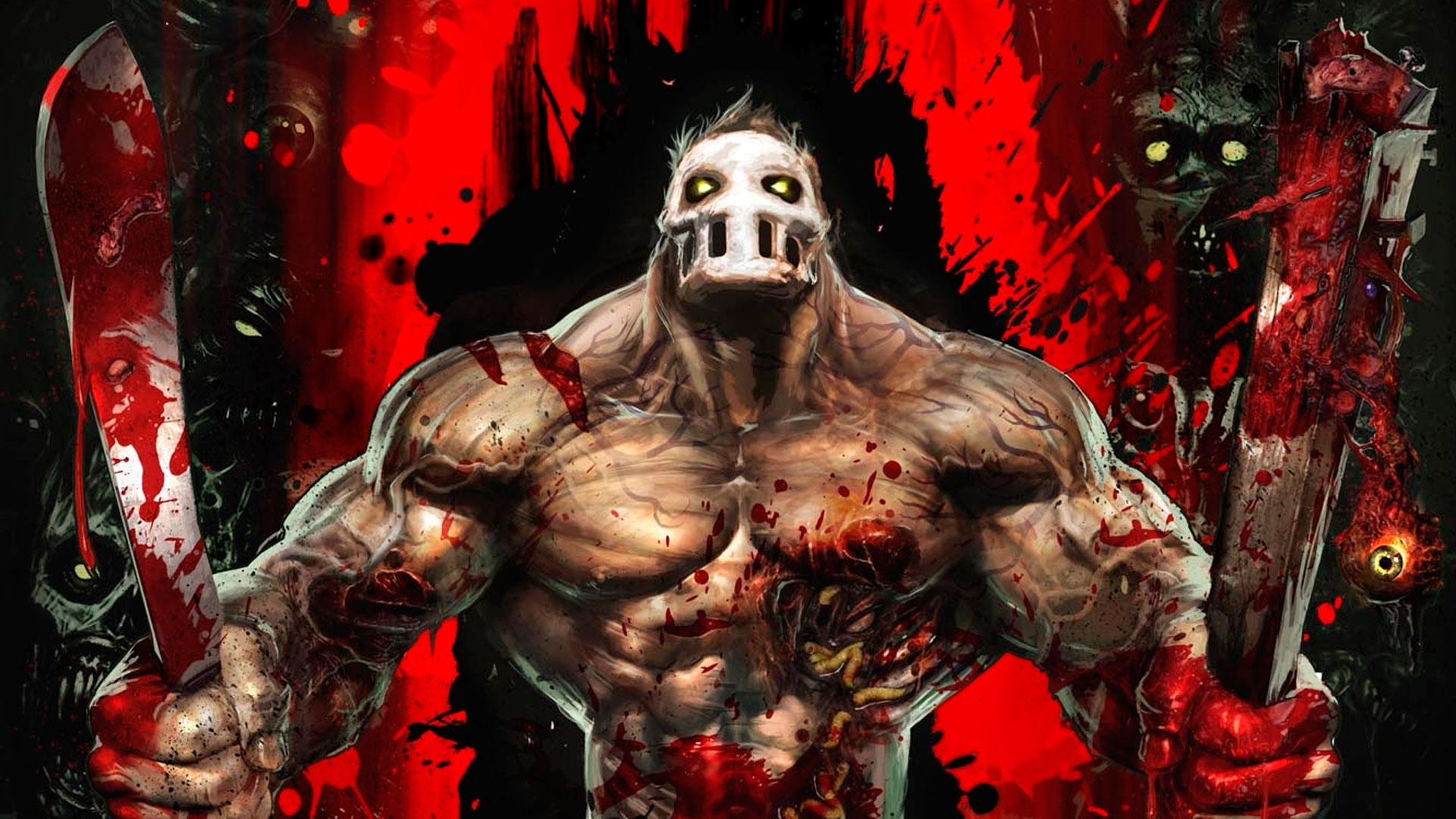 Splatterhouse 2010 Bandai Namco is enjoyable grindhouse gore and violence with heart and enjoyable characters